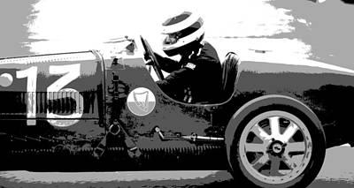 Photograph - Bugatti Racer by Robert Phelan