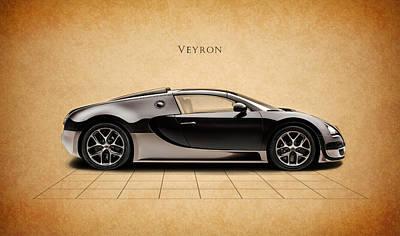 Bugatti Photograph - Bugatti Veyron by Mark Rogan