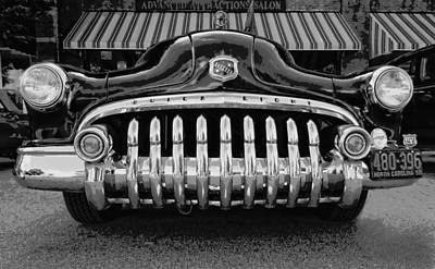 Photograph - Buick Chrome by Victor Montgomery