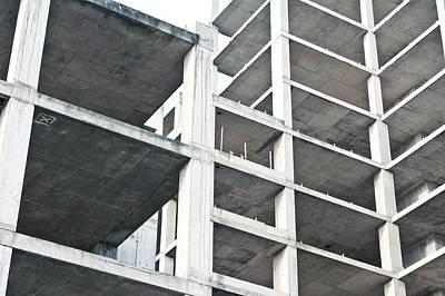 Building Construction Art Print