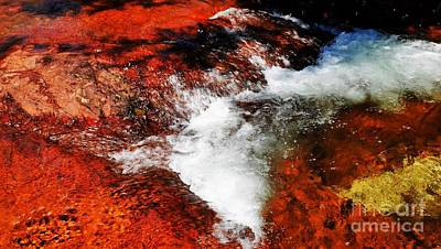 Photograph - Buley Rockhole, Litchfield National Park by Lexa Harpell