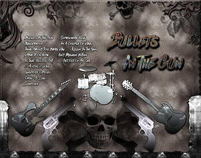 Digital Art - Bullets In The Gun by Michael Damiani