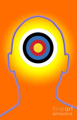 Mental Health Art Photograph - Bullseye by George Mattei