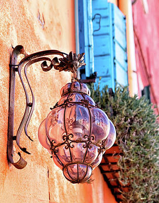 Photograph - Burano Streetlamp by John Hoey