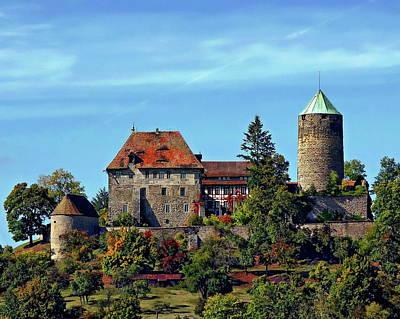 Photograph - Burg Colmberg by Anthony Dezenzio