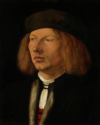 Painting - Burkhard Of Speyer  by Albrecht Durer