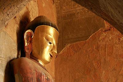 Photograph - Burmese Buddha by Michele Burgess