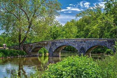 Photograph - Burnside Bridge, Antietam by Lori Coleman