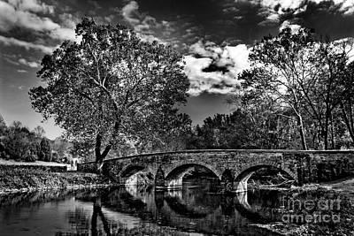 Photograph - Burnside Bridge At Antietam by Paul W Faust - Impressions of Light