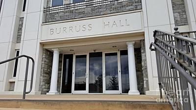 James Madison University Photograph - Burruss Hall by Ben Schumin