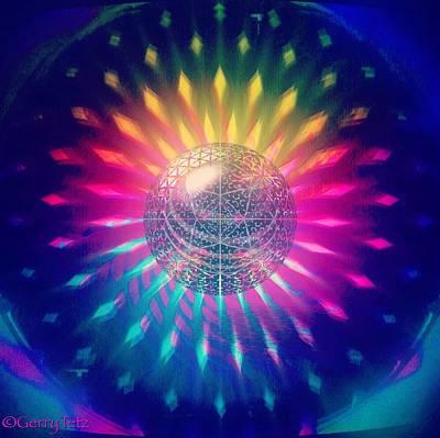 Digital Art - Burst Of Color  by Gerry Tetz