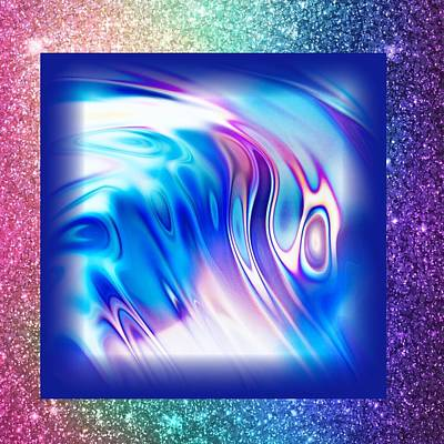 Digital Art - Bursting With Colors  by Gayle Price Thomas