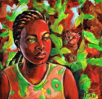 Painting - Bush Baby by June Walker