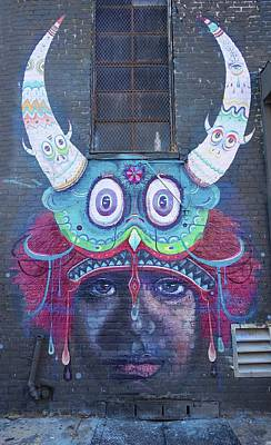 Photograph - Bushwick Brooklyn Graffitti by Joan Reese