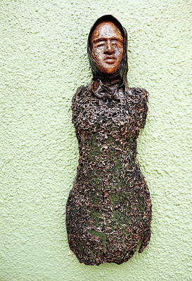 Mixed Media - Bust by Ronex Ahimbisibwe
