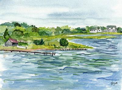 Painting - Butler Beach by Clara Sue Beym