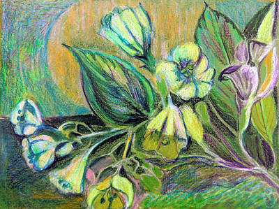 Buttercups Art Print by Mindy Newman