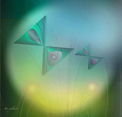 Butterflies 4 Art Print by Iris Gelbart