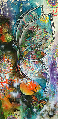 Painting - Butterfly 1 by Reina Cottier