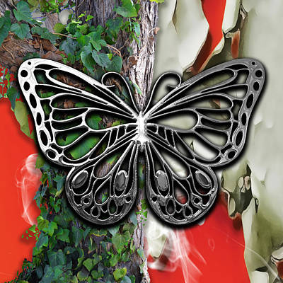 Mixed Media - Butterfly Collection by Marvin Blaine