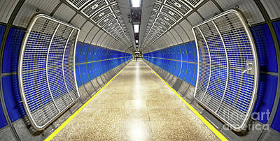 London Tube Mixed Media - Butterfly Effect by Svetlana Sewell