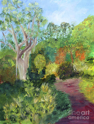 Painting - Butterfly Garden At Gumbo Limbo by Donna Walsh