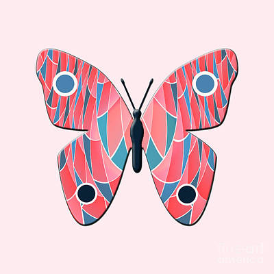 Bug Digital Art - Butterfly by Gaspar Avila