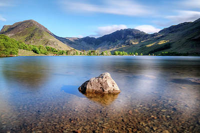 Berge Photograph - Buttermere - Lake District by Joana Kruse