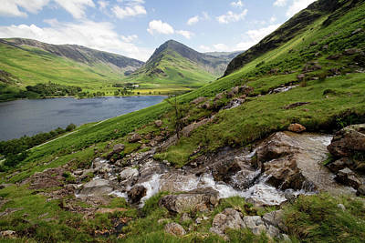 Photograph - Buttermere Views by Shirley Mitchell