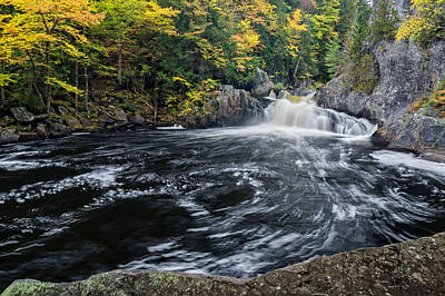 Photograph - Buttermilk Falls Gulf Hagas Me. by Michael Hubley