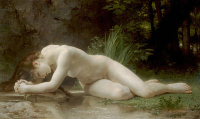 Classical Realism Painting - Byblis  by William-Adolphe Bouguereau