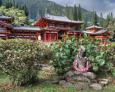 Photograph - Byodo-in by Jeff Cook