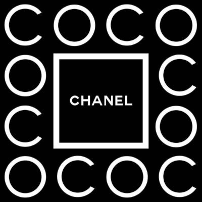 Chanel Wall Art - Digital Art - C O C O by Tres Chic