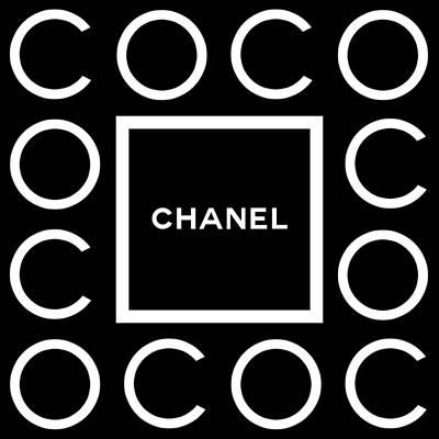 Glamour Digital Art - C O C O by Tres Chic