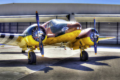 Photograph - C45 Expeditor by Joe  Palermo