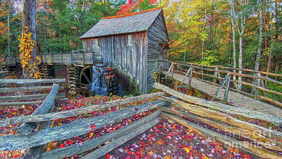 Cable Mill Art Print