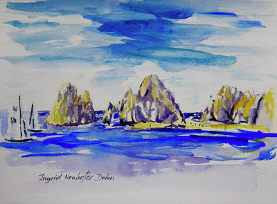 Painting - Cabo San Lucas II by Ingrid Dohm