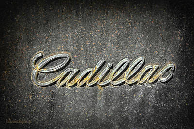 Photograph - Cadillac by LeeAnn McLaneGoetz McLaneGoetzStudioLLCcom