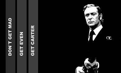 Caine As Carter Art Print by Martin James