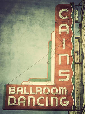 Cains Ballroom Photograph - Cains Color by Amber Snead