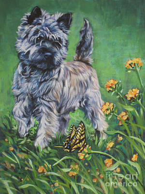 Cairn Terrier Painting - Cairn Terrier by Lee Ann Shepard