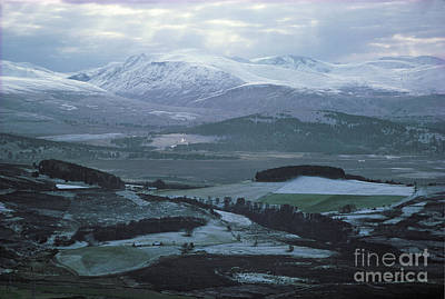 Photograph - Cairngorm Mountains From Dorback by Phil Banks