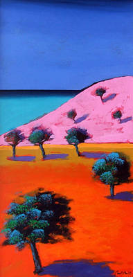 Vivid Colour Painting - Cala Lena by Paul Powis