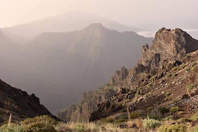 Photograph - Caldera De Taburiente La Palma Mountains by Marek Stepan
