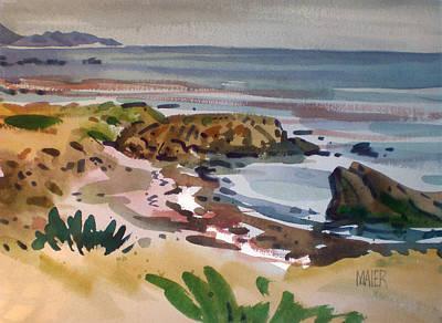California Coast Art Print by Donald Maier