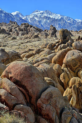 Photograph - California's Alabama Hills by Ray Mathis