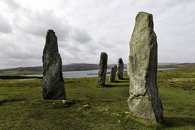 Photograph - Callanish Stones by Fran Gallogly