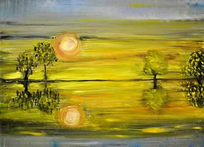 Calmness Art Print by Evelina Popilian