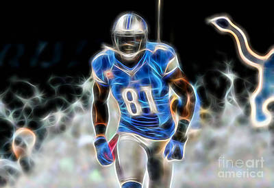 Mixed Media - Calvin Johnson Collection by Marvin Blaine