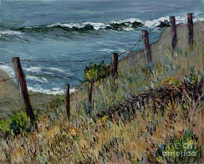 Painting - Cambria Coast by Betsee Talavera